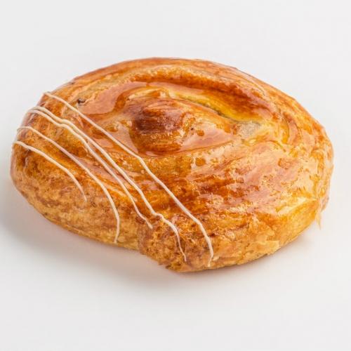 Caracola nueces danesa nueces mantequilla